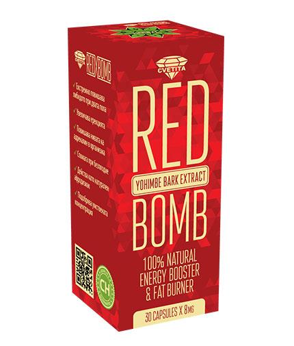 CVETITA HERBAL Red X Bomb / 30 Caps.
