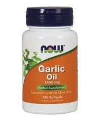 NOW Garlic Oil 1500mg / 100Softgels