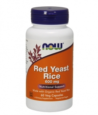 NOW Red Yeast Rice 600mg / 60Vcaps.