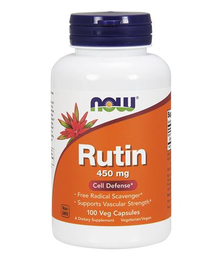 NOW Rutin 450mg / 100Vcaps.