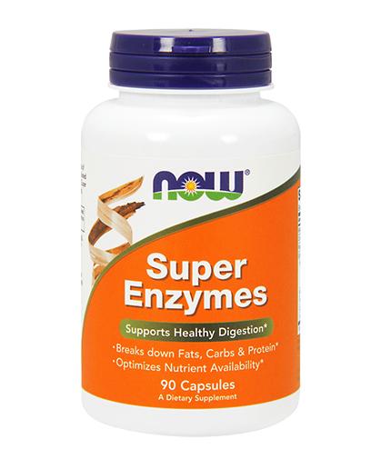 NOW Super Enzymes / 90Caps.