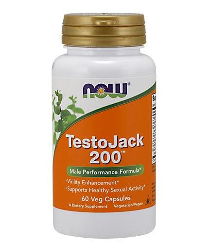 NOW TestoJack 200™ / 60Vcaps.