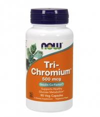 NOW Tri-Chromium 500mcg / 90Vcaps.