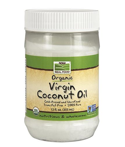 NOW Virgin Coconut Oil 570g