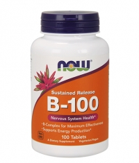 NOW Vitamin B-100 Sustained Release / 100Tabs