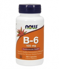 NOW Vitamin B-6 100mg / 100Vcaps.