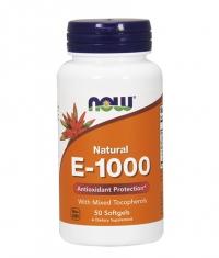 NOW Vitamin E-1000 IU / 50Softgels