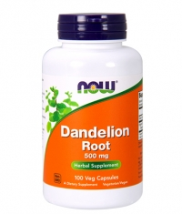 NOW Dandelion Root 500mg / 100Vcaps.