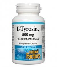 NATURAL FACTORS L-Tyrosine 500mg. 60 Vcaps.