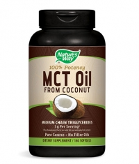 NATURES WAY MCT Oil from Coconut / 180 Soft.