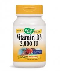 NATURES WAY Vitamin D3 2000IU / 240 Soft.