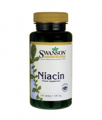 SWANSON Niacin 100mg. / 250 Tabs.