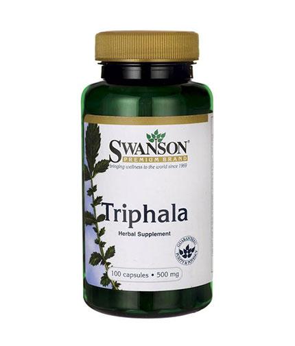 SWANSON Triphala 500mg. / 100 Caps