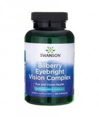 SWANSON Bilberry Eyebright Vision Complex / 100 Caps