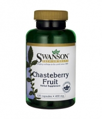 SWANSON Chasteberry Fruit 400mg. / 120 Caps