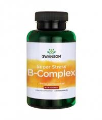 SWANSON Super Stress Vitamin B-Complex with Vitamin C / 240 Caps