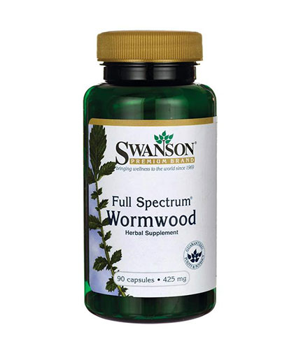 SWANSON Full-Spectrum Wormwood (Artemisinin) 425mg. / 90 Caps