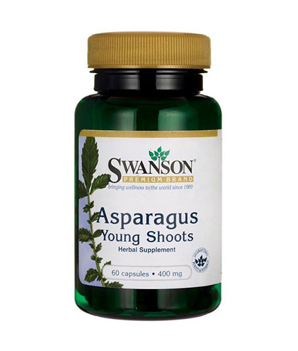 SWANSON Asparagus Young Shoots 400mg. / 60 Caps