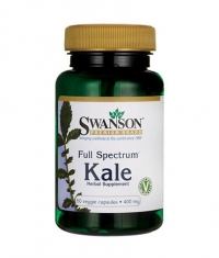SWANSON Full Spectrum Kale 400mg. / 60 Vcaps