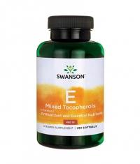 SWANSON Vitamin E Mixed Tocopherols 400IU / 250 Soft