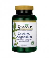 SWANSON Calcium/Magnesium (Aspartate Complex) / 120 Tabs.