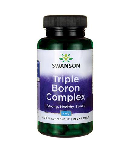 SWANSON Triple Boron Complex 3mg. / 250 Caps