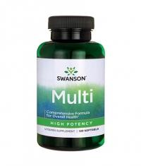 SWANSON Multi - High Potency / 120 Soft