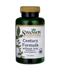SWANSON Century Formula Multivitamin without Iron / 130 Tabs