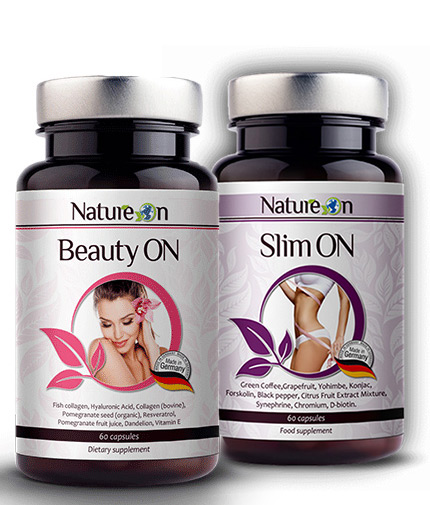PROMO STACK Beauty ON + Slim ON FREE