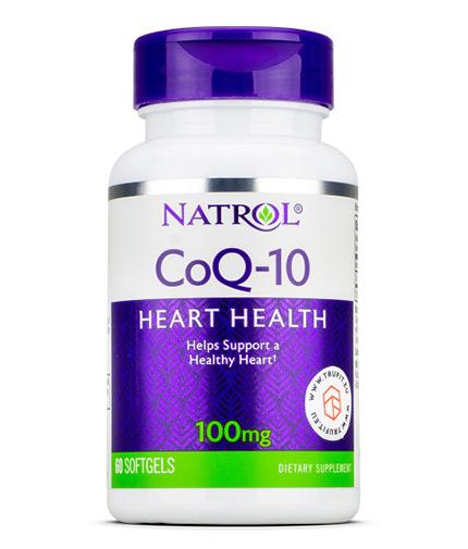 NATROL CoQ-10 100mg / 60 Softgels