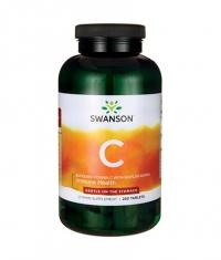 SWANSON Buffered Vitamin C with Bioflavonoids 1000mg. / 250 Tabs