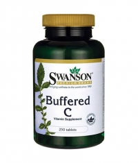 SWANSON Buffered C 500mg. / 250 Tabs