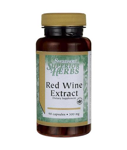 SWANSON Red Wine Extract 500mg. / 90 Caps