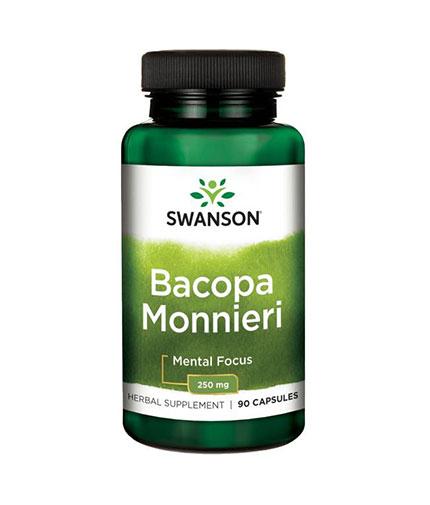 SWANSON Bacopa Monnieri 250mg. / 90 Caps