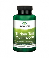 SWANSON Turkey Tail Mushroom 500mg. / 120 Caps