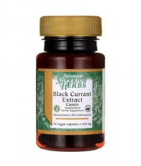 SWANSON Black Currant Extract 200mg. / 30 Vcaps