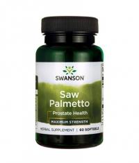 SWANSON Saw Palmetto - Maximum Strength 320mg. / 60 Soft