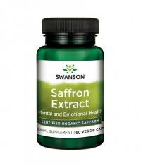 SWANSON Saffron Extract - Certified Organic Saffron 30mg. / 60 Vcaps