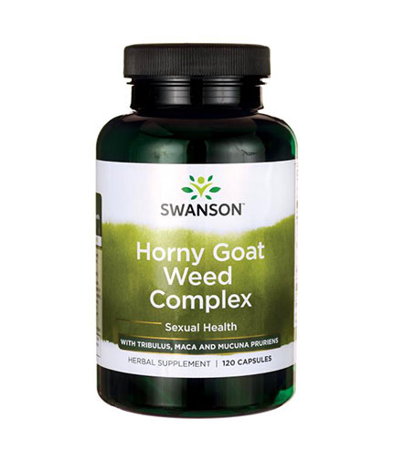 SWANSON Horny Goat Weed Complex / 120 Caps