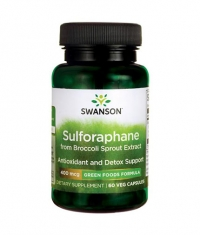SWANSON Sulforaphane from Broccoli Sprout Extract 400mcg. / 60 Vcaps