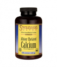 SWANSON Albion Chelated Calcium Glycinate 180mg. / 180 Caps
