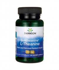 SWANSON Suntheanine L-Theanine 100mg. / 60 Vcaps