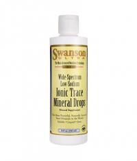 SWANSON Ionic Trace Mineral Drops / 236ml.