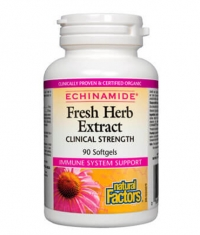 NATURAL FACTORS ECHINAMIDE® Fresh Herb Extract / 90 Soft.