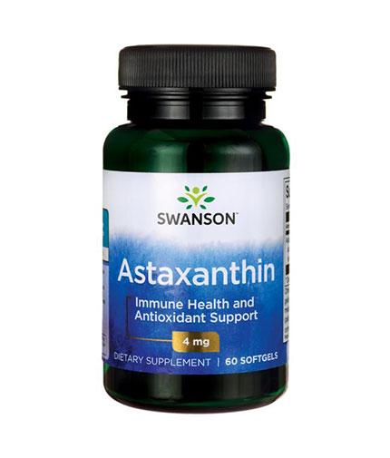 SWANSON Astaxanthin 4mg. / 60 Soft