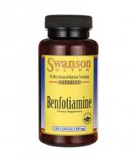 SWANSON Benfotiamine 80mg. / 120 Caps