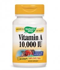 NATURES WAY Vitamin A 10000 IU / 100 Soft.