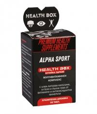 HEALTH BOX Alpha Sport / 60 Tabs