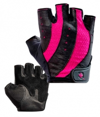 HARBINGER Woman's Pro Gloves / Black & Pink