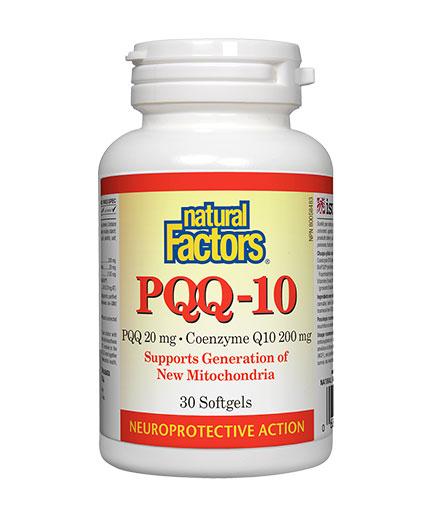 NATURAL FACTORS PQQ - 10 / 30 Softgels